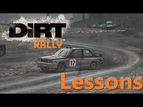 Dirt Rally - Lessons Ep1 Basics To Staying On The Track