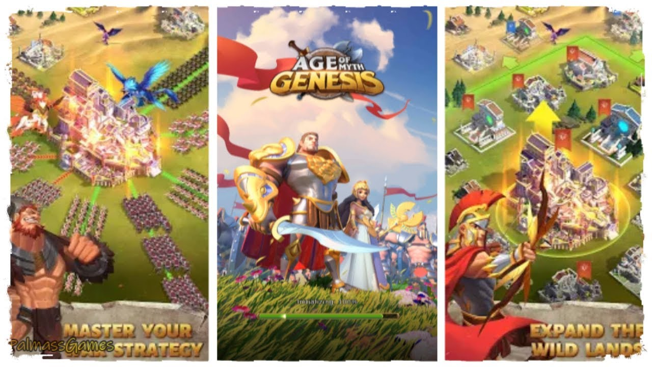 Age Of Myth Genesis (CBT) Gameplay Android | New Mobile Game