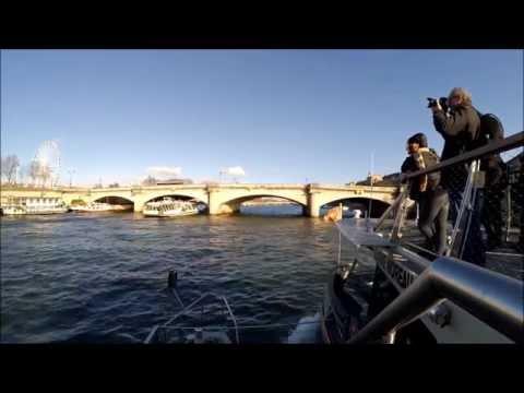 Seine river cruise Paris FRANCE