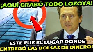 VER PARA CREER ¡ AQUI FUE EL LUGAR DONDE LOZOYA ENTREGO EL DINERO y LO GRABO TODO !