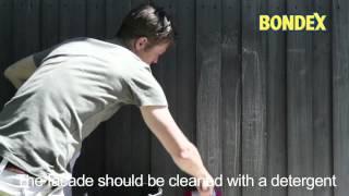 Bondex - Treatment of wooden facades