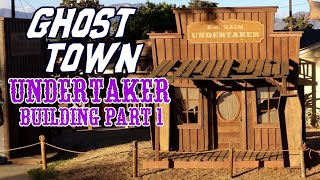 Haunted & Abandoned Old Western Mining Ghost Town Theme: Halloween Decorations & Yard Display