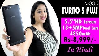 Infocus Turbo 5 Plus Unboxing & Overview In Hindi