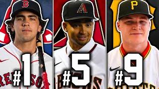 Ranking EVERY 1st Round Pick 2021 MLB Draft