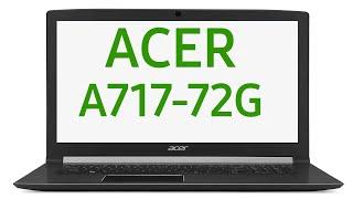 Ноутбук Acer Aspire 7 A717-72G