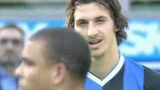 2006-07 Inter-Milan 2-1: lo sguardo di Ibra