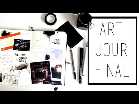 Art Journal · 30 Ways to Fill a Sketchbook · SemiSkimmedMin