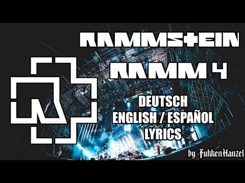 Rammstein - Ramm 4 (full lyrics - multicam)