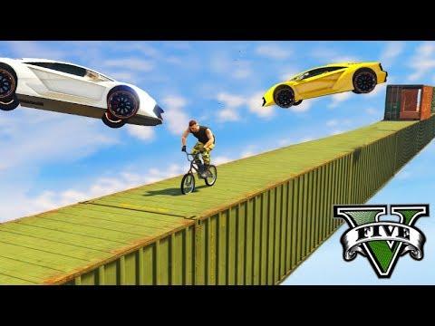 GTA V Online: BMX vs SUPER CARROS - A PARTIDA DIFÍCIL!!!