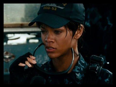 Rihanna On Battleship and Ashton Rumors!