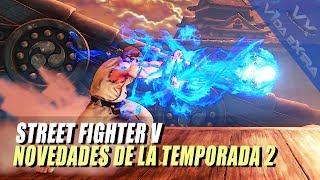 Street Fighter V: Hora y media con las novedades de la 2ª temporada