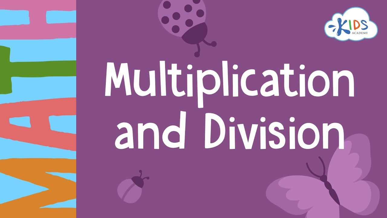 small resolution of Fact Family Multiplication and Division   Math for 3rd Grade - Kids Academy  - YouTube