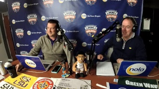 Dunc and Holder on Sports 1280 in New Orleans. March 7, 2018