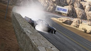 A lap of drifting on Black Cat County (Assetto Corsa)