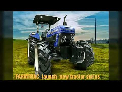 FARMTRAC 6090 x pro 4x4 90 hp tractor  with COMPANY FITTED fiber roof