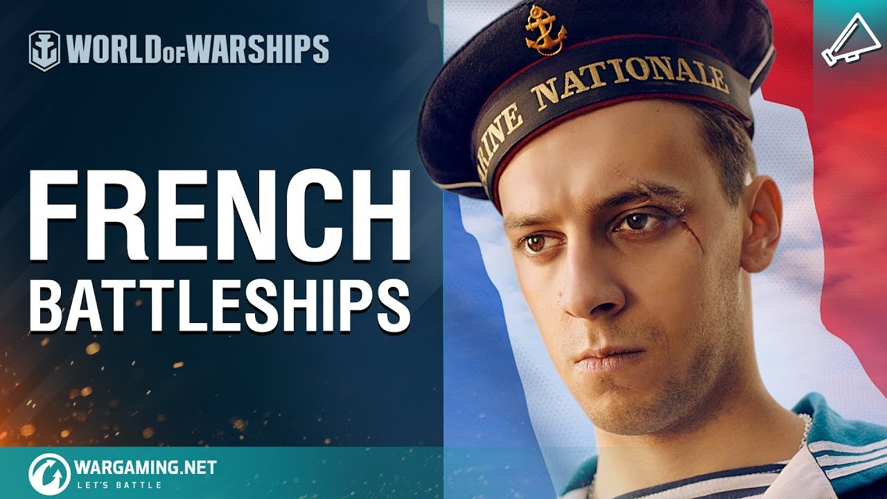 World of Warships – Bonjour, Battleships!