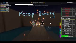 We Insane On A Volcano! (Mocap Dancing Roblox)