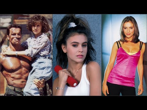 Alyssa Milano From 13 to 46 years old