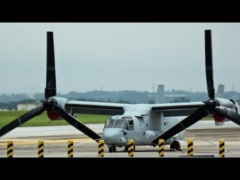 [普天間基地] Osprey MV-22B United States Marine Corps Air Station Futenma