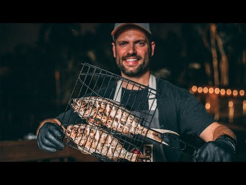 How To Grill Fish - Whole Yellow Tail - 10min Weeknight Recipe