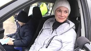 2019-03-12 г. Брест. Рейд ГАИ: правила подвоза и высадки детей.  Новости на Буг-ТВ. #бугтв