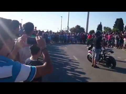 Tunisian Stunt Rider