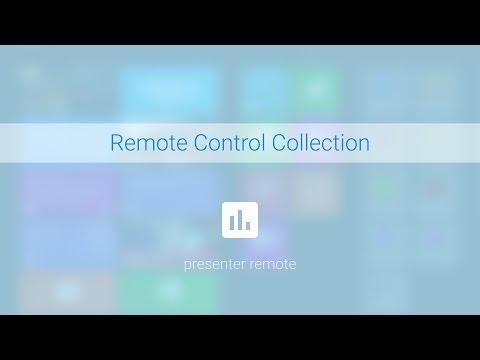 Presenter Demo - Remote Control Collection