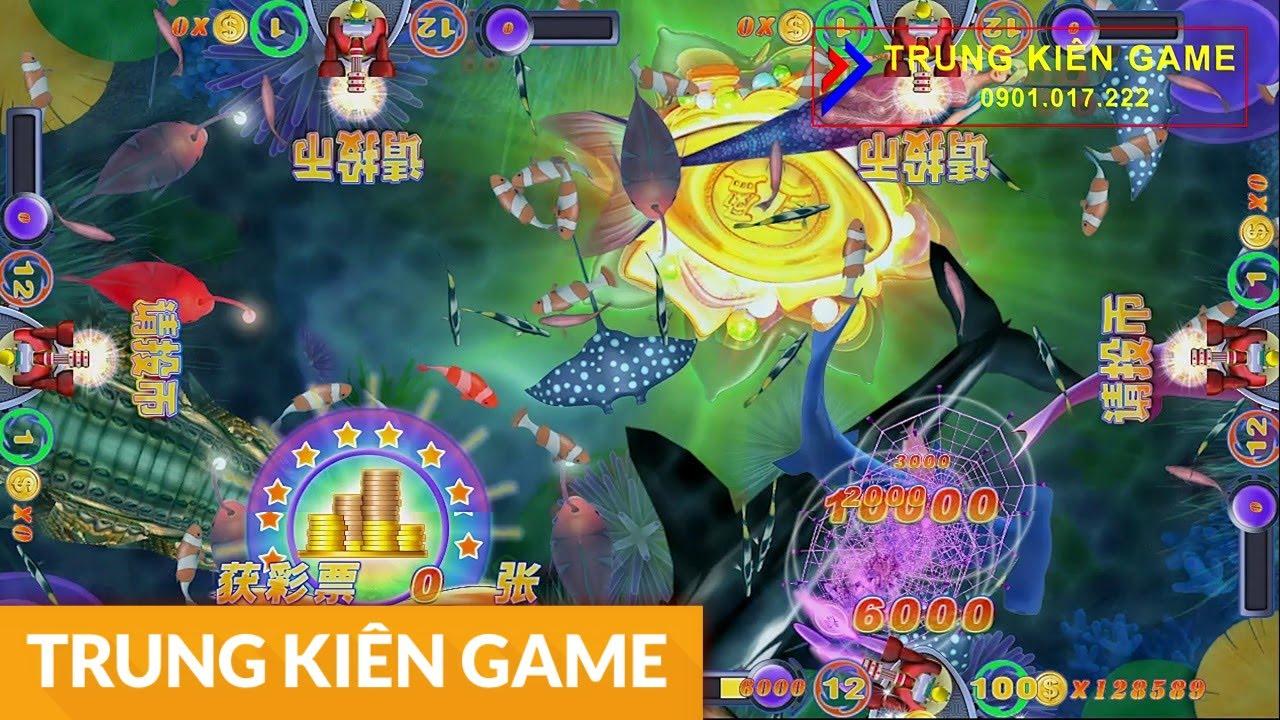 Máy bắn cá đảo | Đảo cá sấu | Cá mập đen | Trung Kiên Game | 0901.017.222