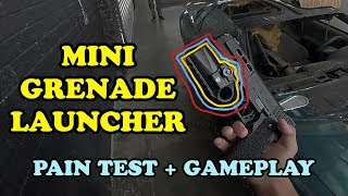 HFC HG-138 Mini Tactical Grenade Launcher Pain Test + Gameplay