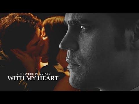 Stefan & Elena | Playing With My Heart. (+Damon)