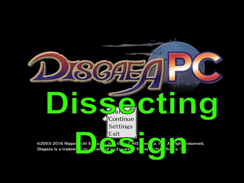 Dissecting Design -- The Rabbit Hole Design Of Disgaea
