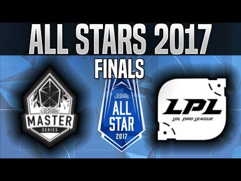LMS vs LPL - Game 1 - 2017 All-Star Final - Taiwan vs China G1 League of Legends All-Star 2017 Day 4