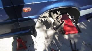 видео Специфика ремонта передней подвески ВАЗ 2115