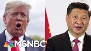 President Donald Trump Delays New China Tariffs Ahead Of Trade Talks | Velshi & Ruhle | MSNBC