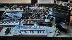 Live Performance Stream #4 - Eurorack, VCV Rack, O Coast, MiniBrute2s, Felt Instruments