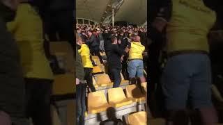 Roda jc supporters met elkaar op de vuist na degradatie