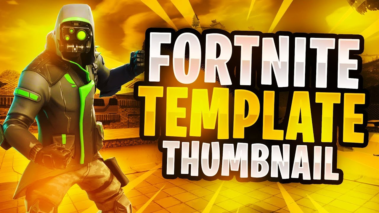 New Leaked Fortnite Skins Thumbnail Template Free Fortnite Gfx