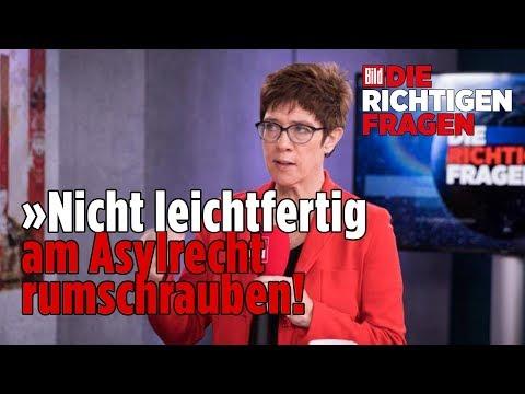 """CDU-Vorsitz: Annegret Kramp-Karrenbauer stellt sich Leser-Fragen – """"Die richtigen Fragen"""""""