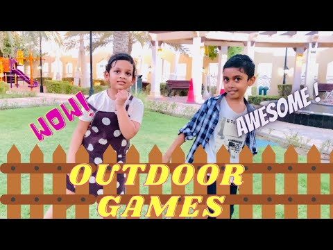Fun and easy outdoor games/kids games