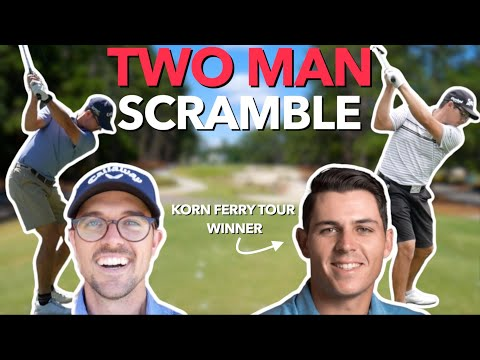 How Low Can We Go? Two Pro Golfers Scramble. | Bryan Bros Golf