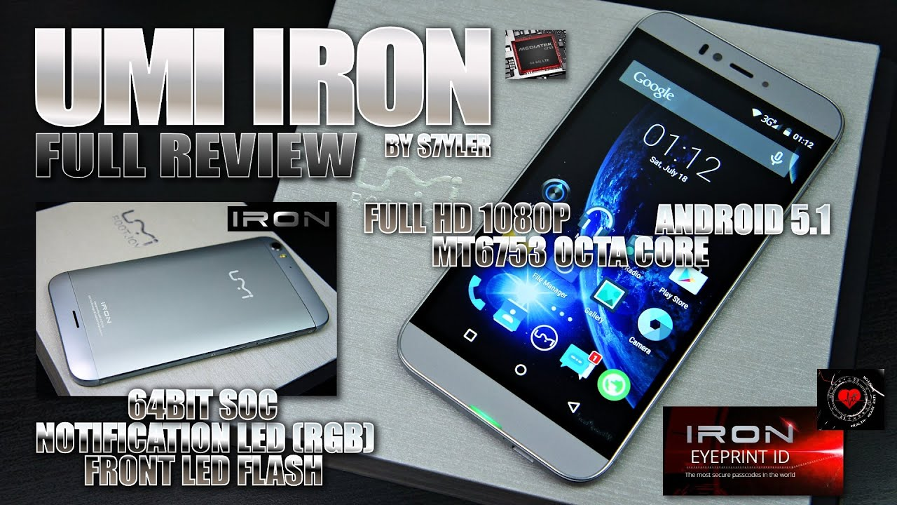 UMI IRON (In-Depth Review) Sony IMX214, MTK6753, 5.5' F ...