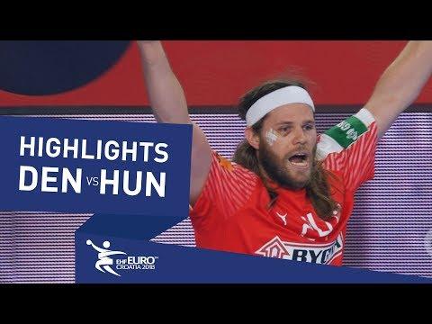 Highlights | Denmark vs Hungary | Men's EHF EURO 2018