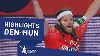 Highlights | Denmark vs Hungary | Men's EHF EURO 2018