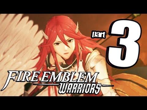 Fire Emblem Warriors - Walkthrough Part 3 Dragon Valley Temple (English) co op Gameplay!