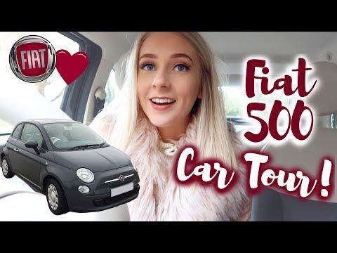 FIAT 500 CAR TOUR! 🚗