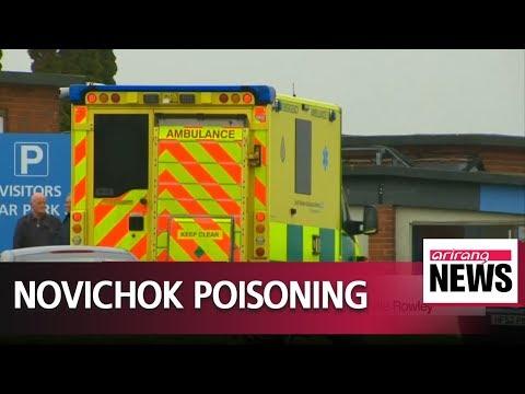 British police 'briefly' talk to Novichok victim Charlie Rowley
