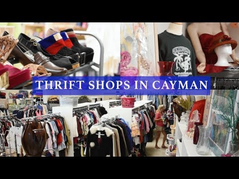 Thrift shops in Cayman