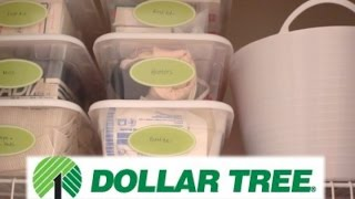 Dollar Tree Organization! | Linen Closet