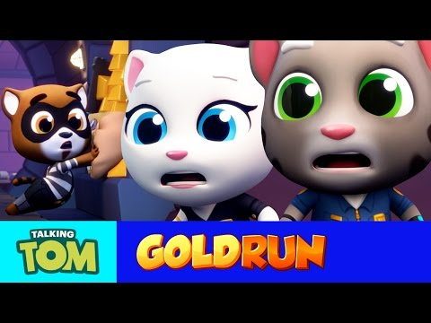 Thumbnail: Talking Tom Gold Run - The Hammer of Justice (Official Trailer)