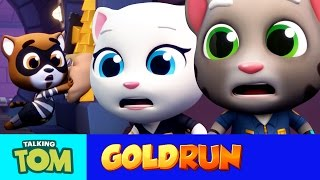 Talking Tom Gold Run - The Hammer of Justice (Official Trailer) thumbnail